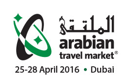 Arabian travel market logo