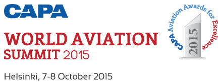 CAPA World Aviation Summit 2015 logo