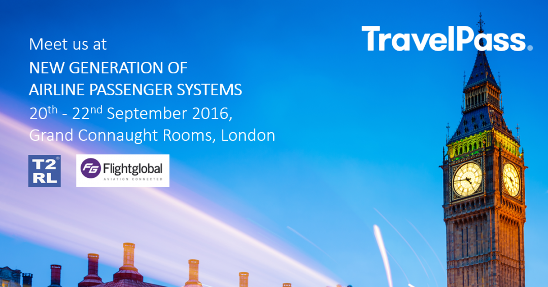 TravelPass at New Generation of Airline Passenger Systems in London